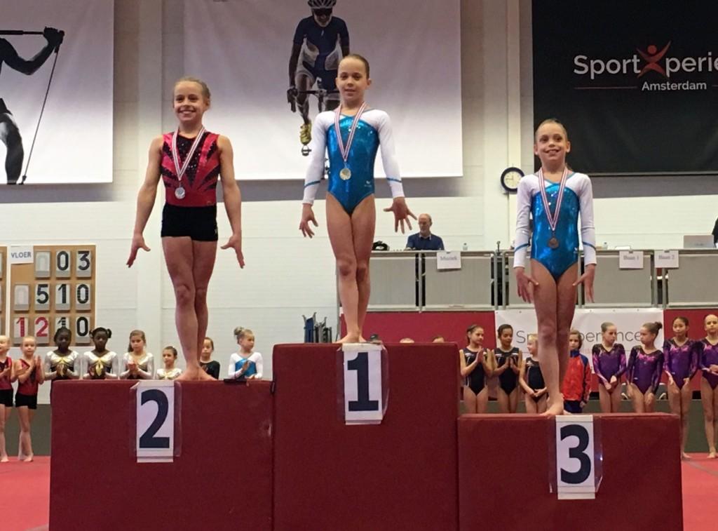 Marylinn Hendriks kampioen van Zuid-Holland
