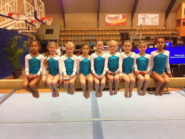 Moreau Gymnastisch Tour in Vlissingen.