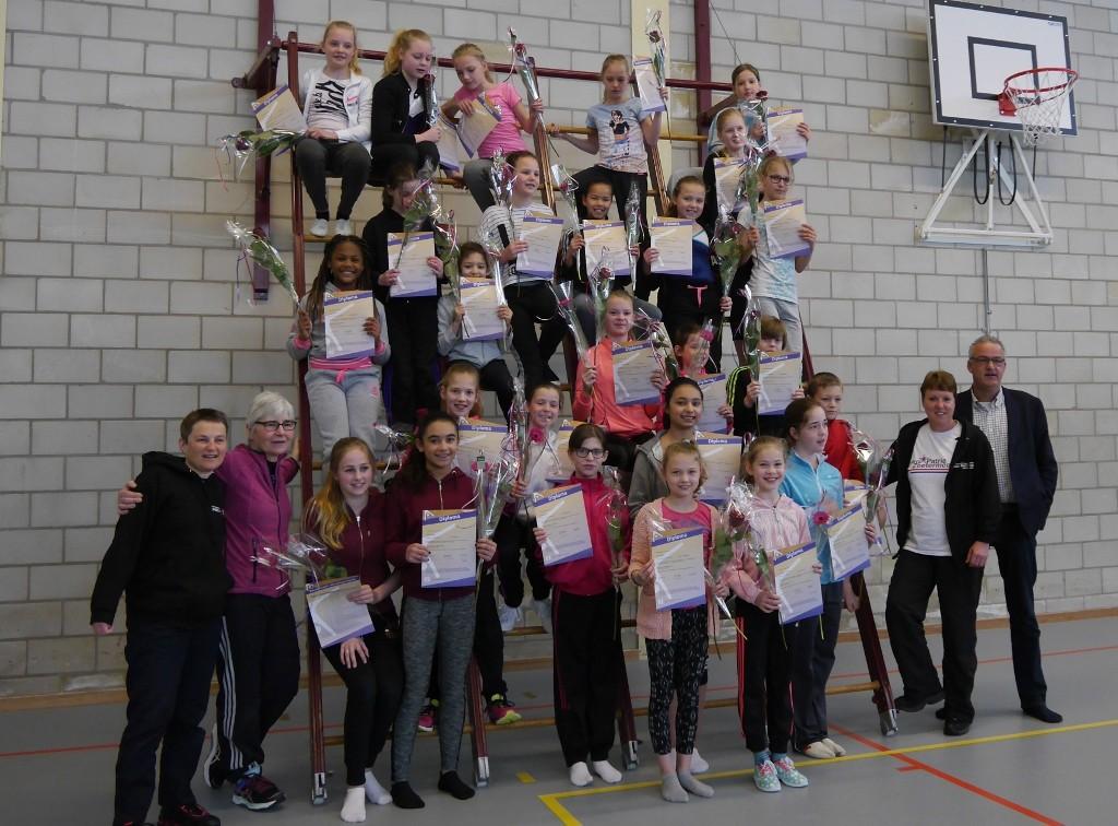 Diploma's voor Junior Assistenten