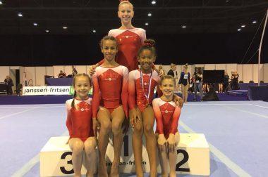 Nationale titels tijdens het NK turnen dames