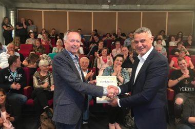 Steven Blom benoemd tot Erelid Pro Patria