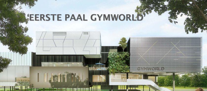 Eerste paal Gymworld!