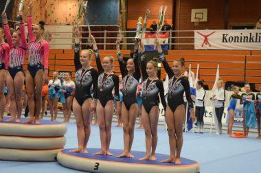 Marrylinn 3e bij NK clubteams