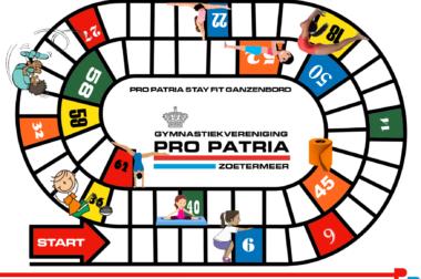 Pro Patria Stay Fit Ganzenbord